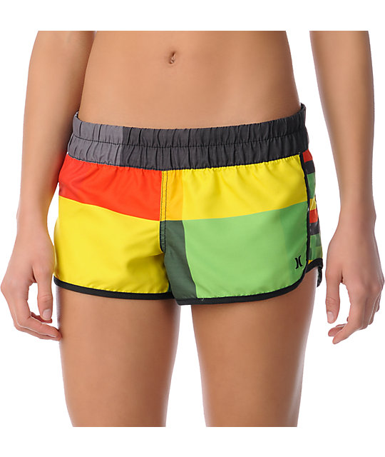 Hurley Rasta Supersuede Board Shorts