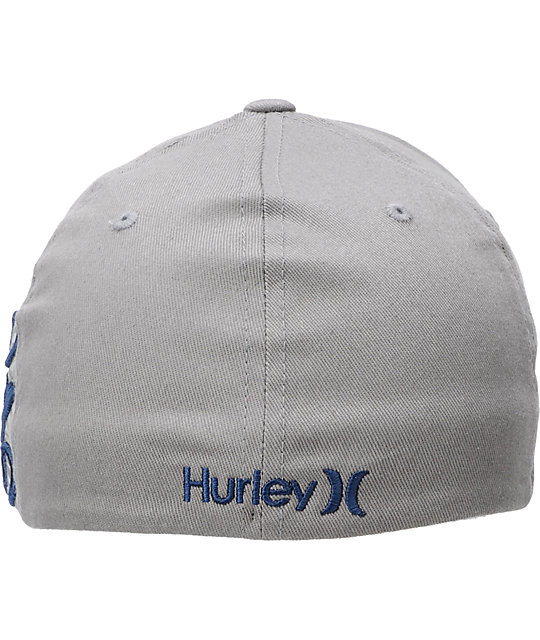 Hurley Spark Grey Flexfit Hat