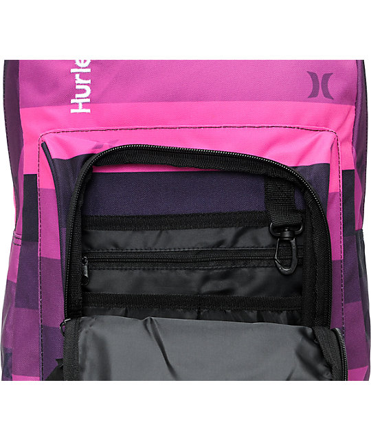 Hurley Sync Pink Laptop Backpack