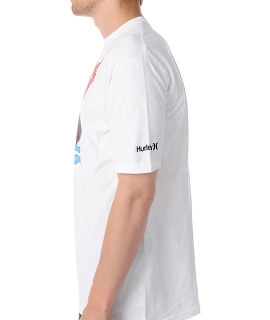 Hurley Tints White T-Shirt