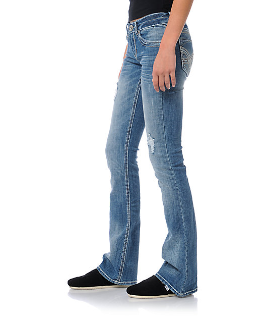 Hydraulic Chelsea Light Blue Bootcut Jeans