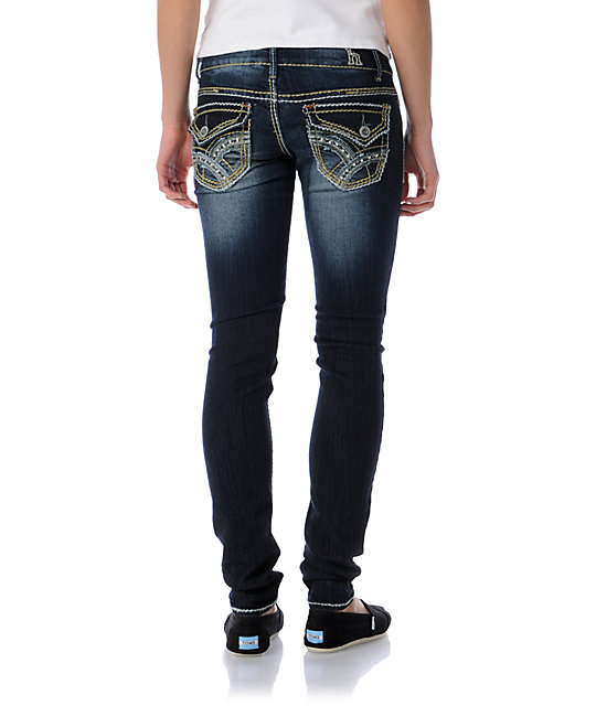 Hydraulic Hilary Dark Wash Super Skinny Jeans