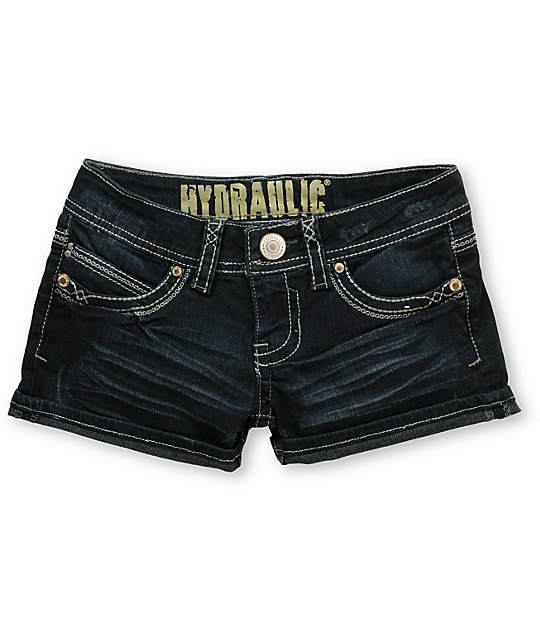 Hydraulic Tyra 2.5 Cuffed Denim Shorts