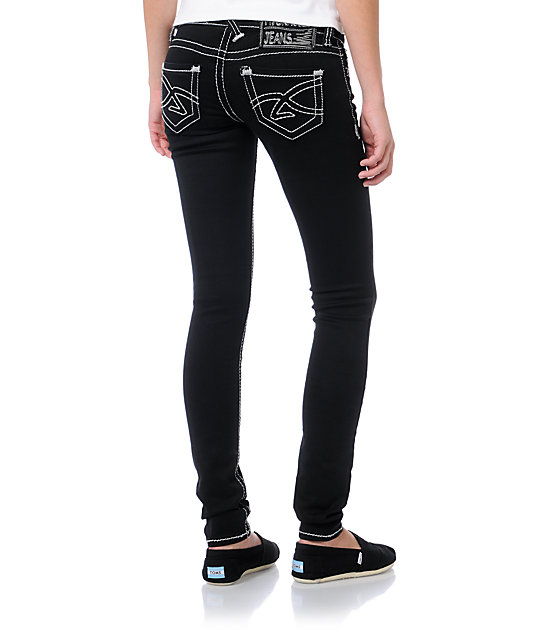 Hydraulic Ultra Black Jeggings