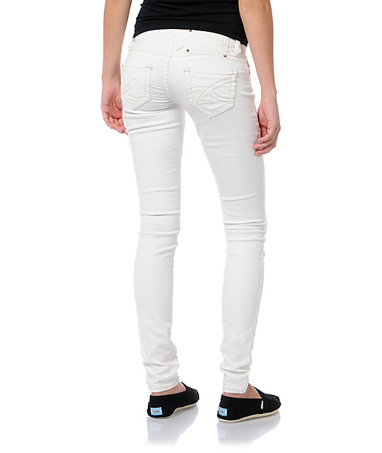 Hydraulic Ultra White Super Skinny Jeans