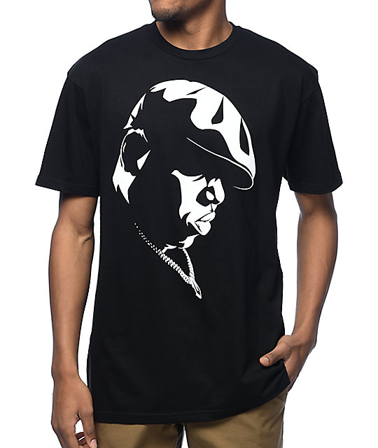 6b4a2369 Hypnotize Biggie Shadow Black T-Shirt | Zumiez