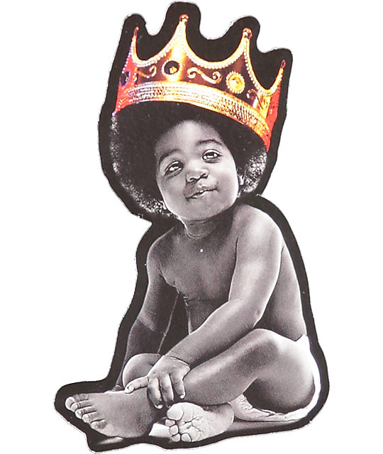 Hypnotize Notorious Baby Crown pegatina