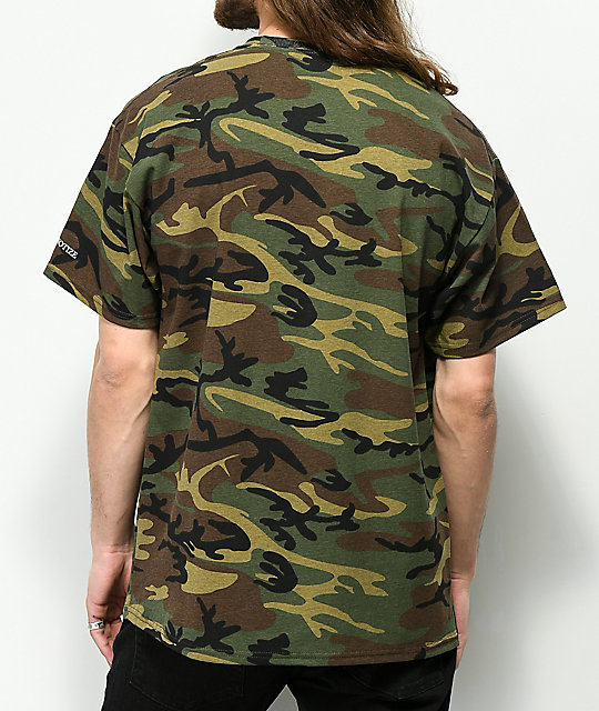 Hypnotize Notorious Big Army Camo T-Shirt
