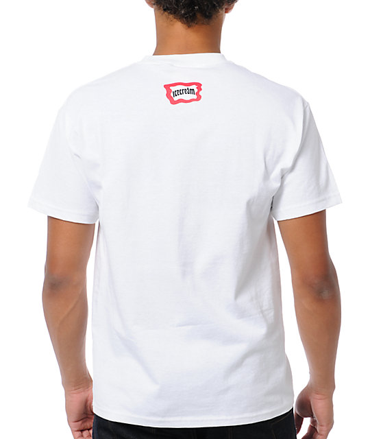 ICECREAM Pop Bar White T-Shirt