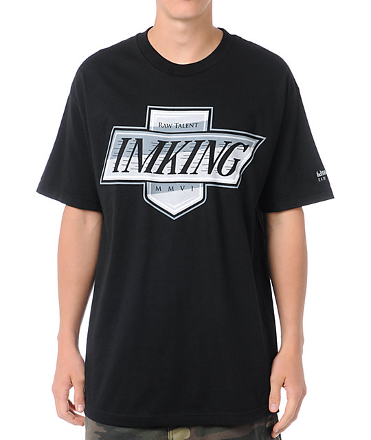 IMKing Ellie Black T-Shirt