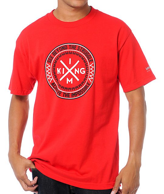 IMKing Message Red T-Shirt