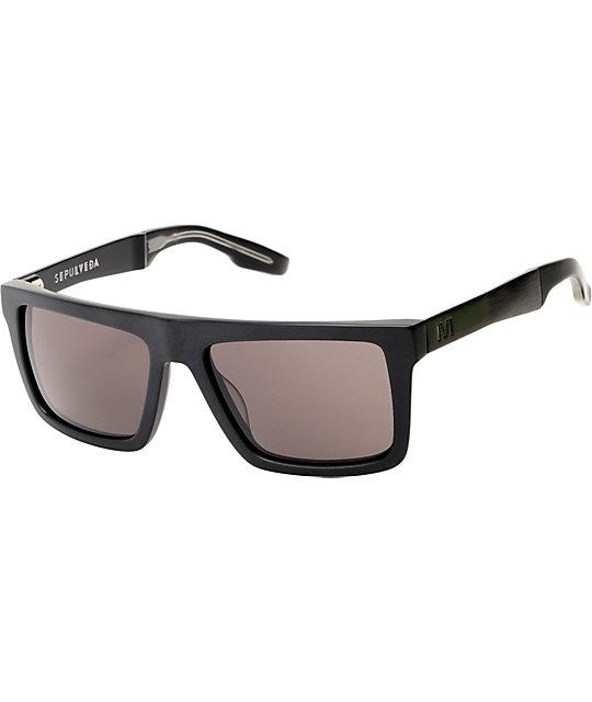 3eb0a0b43b IVI Sepulveda Matte Black Sunglasses