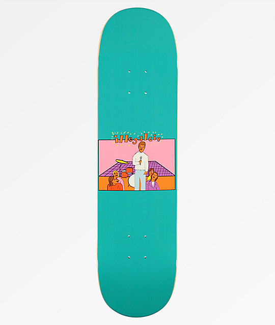 "Illegal Civilization Band 8.0"" Skateboard Deck"