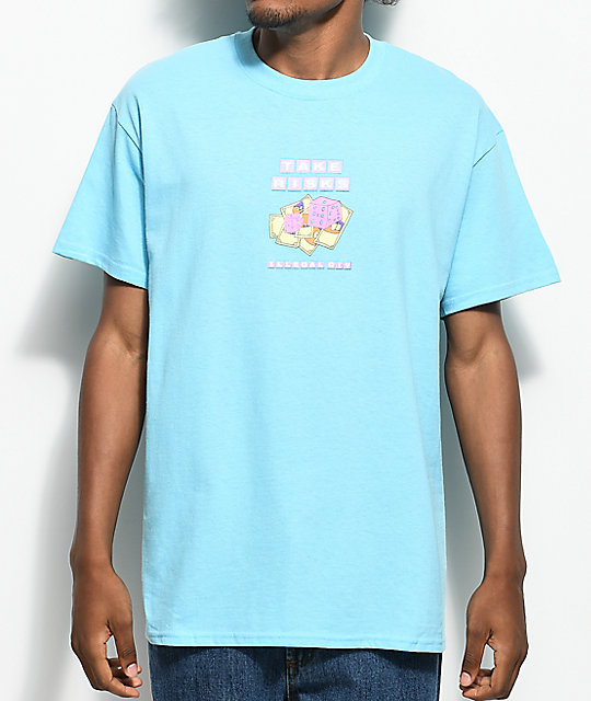 Illegal Civilization Take Risks Light Blue T-Shirt