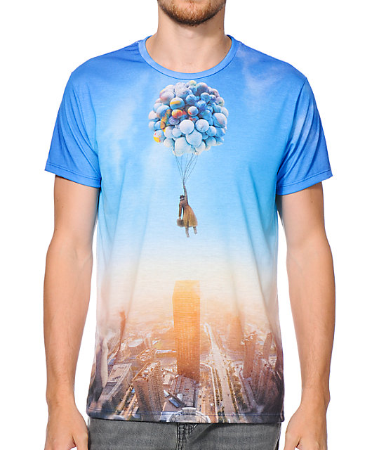 Imaginary Foundation Air Born Sublimated T-Shirt