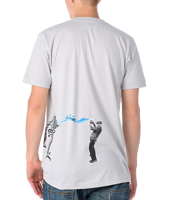 Imaginary Foundation Dream Machine Silver T-Shirt