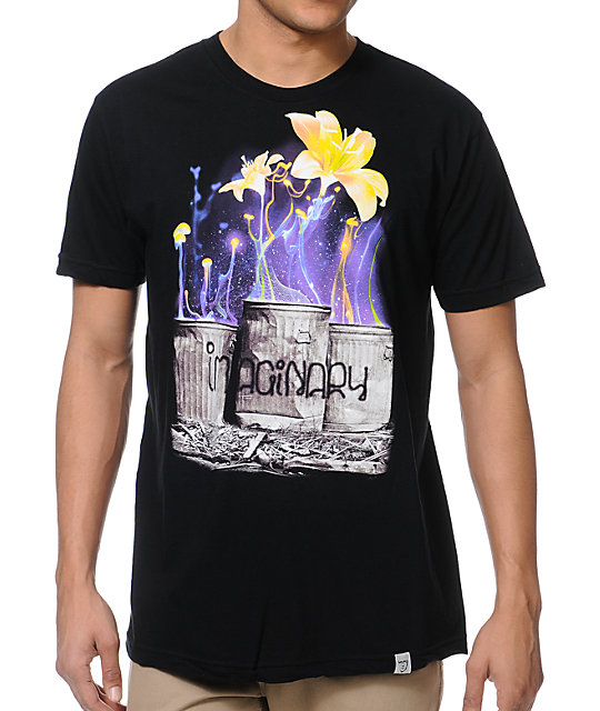 Imaginary Foundation Rubbish Black T-Shirt