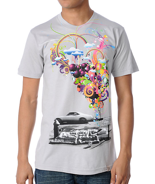Imaginary Foundation Wake Up & Dream Silver T-Shirt