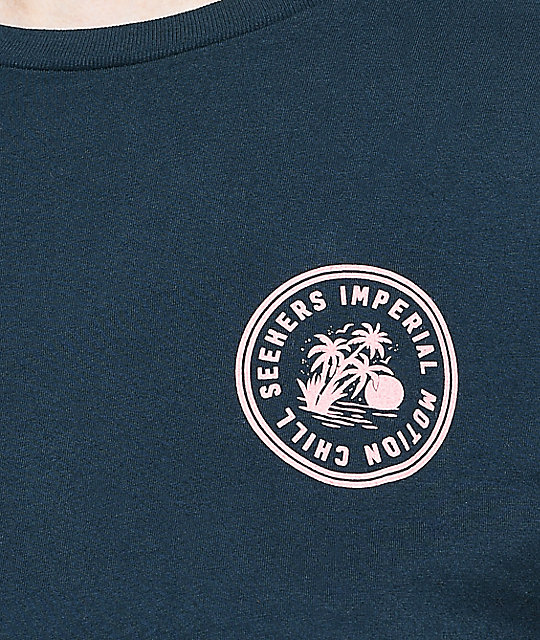 Imperial Motion Chill Seeker Navy Long Sleeve T-Shirt