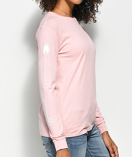 Imperial Motion Chill Seeker Pink Long Sleeve T-Shirt