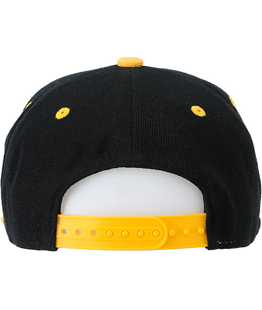 Imperial Motion Curser Black & Yellow Snapback Hat