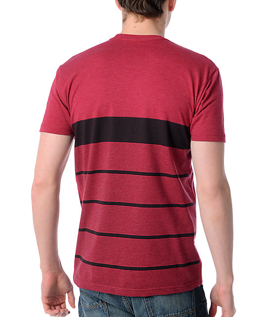 Imperial Motion Faded Dark Red T-Shirt