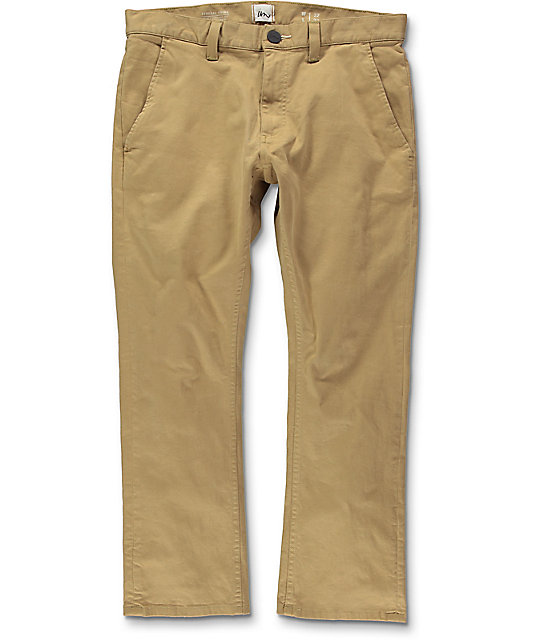 Imperial Motion Federal Cropped Khaki Chino Pants