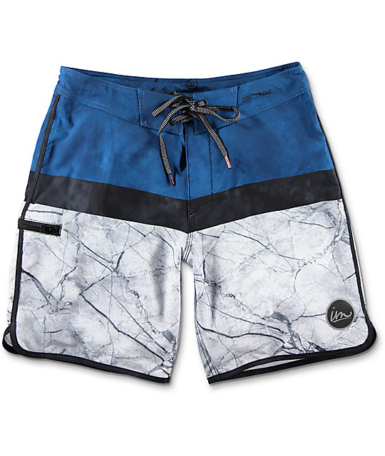 Imperial Motion Hayworth boardshorts en azul