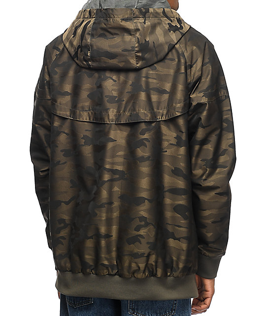Imperial Motion Larter Breaker Zip Camo Jacket