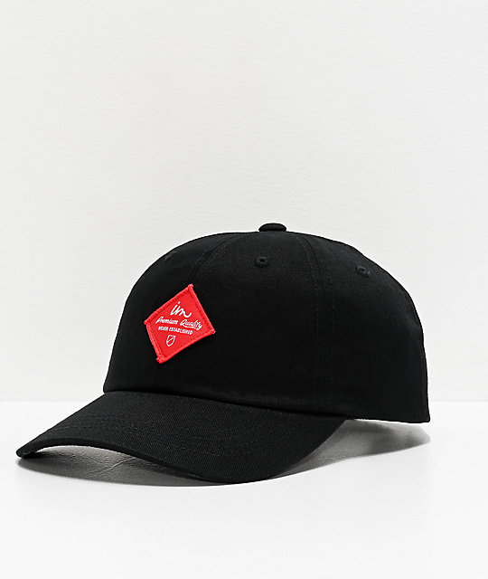 Imperial Motion Merchant Black Strapback Hat