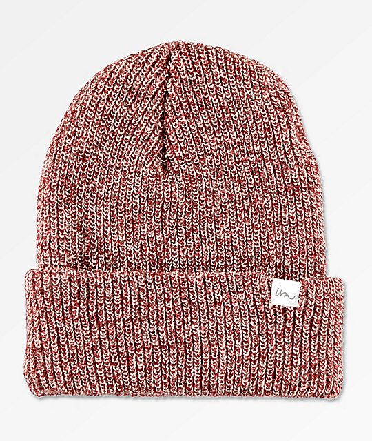 Imperial Motion Norm Burgundy Heather Beanie