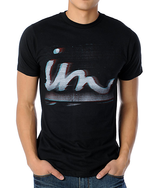 Imperial Motion Out Of Focus Black T-Shirt