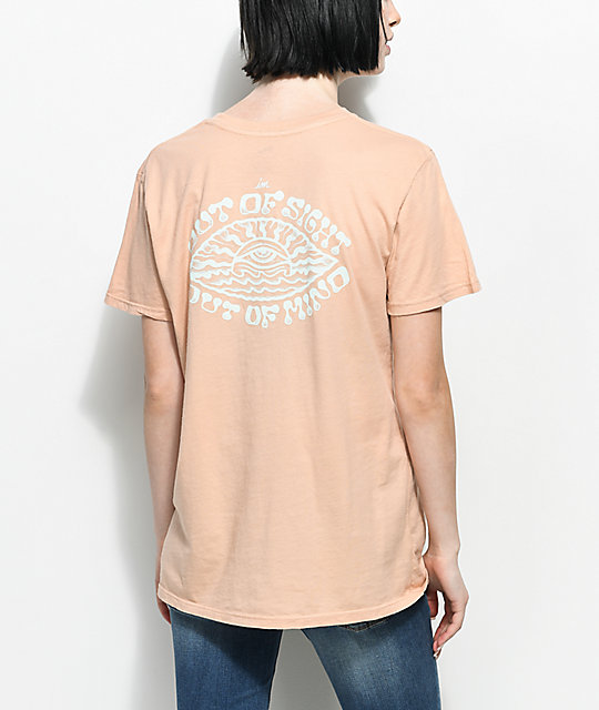 Imperial Motion Out Of Sight Peach T-Shirt