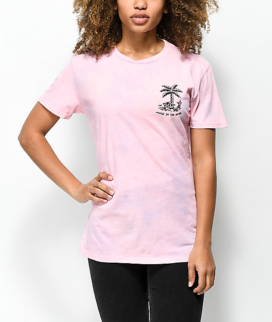 Imperial Motion Shade Pink Tie Dye T-Shirt