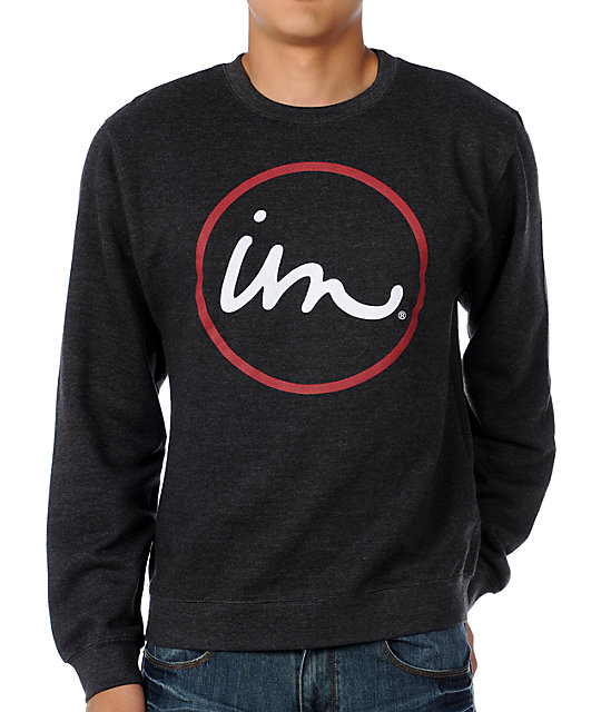 Imperial Motion The Classic Charcoal Pullover Sweatshirt