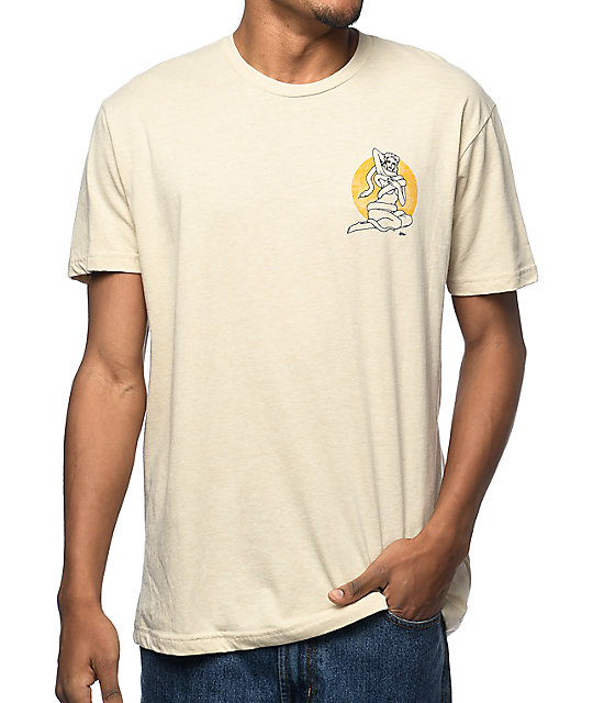 Imperial Motion Tied Up Creme T-Shirt