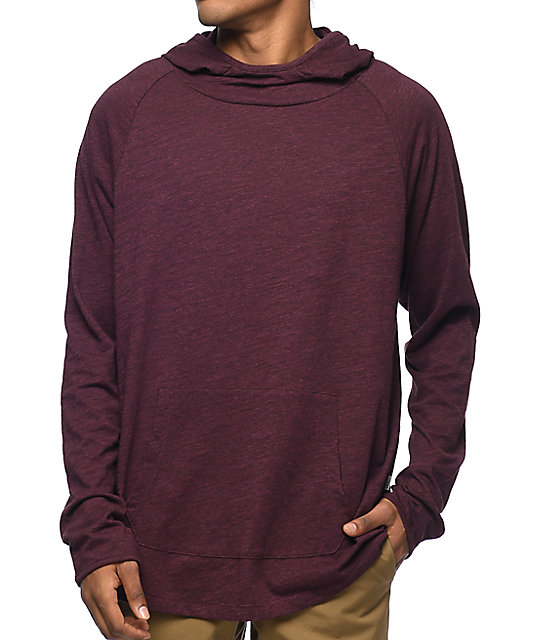 Imperial Motion Trace Scuba Burgundy Hoodie