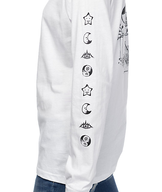 Imperial Motion Tree House White Long Sleeve T-Shirt