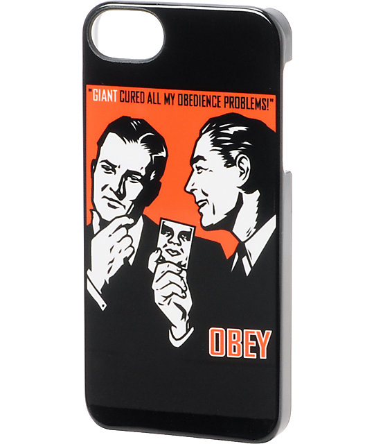 Incase x Obey Obedience Black iPhone 5 Case
