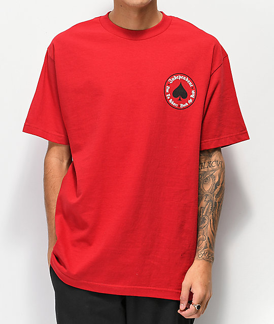 Independent x Thrasher Oath Red T-Shirt