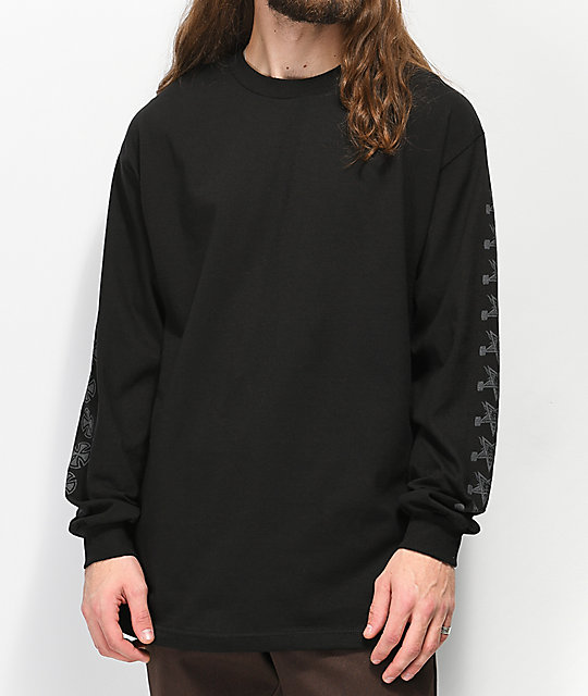Independent x Thrasher Pentagram Black Long Sleeve T-Shirt