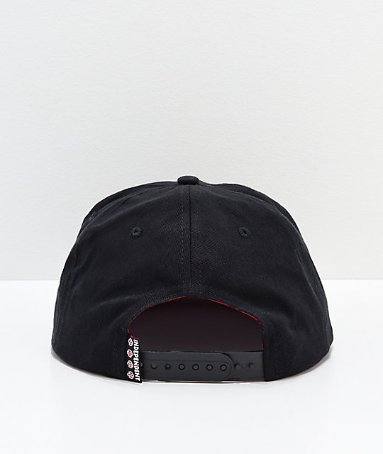 ... Independent x Thrasher Pentagram Black Snapback Hat ... 22a4d6984d0f