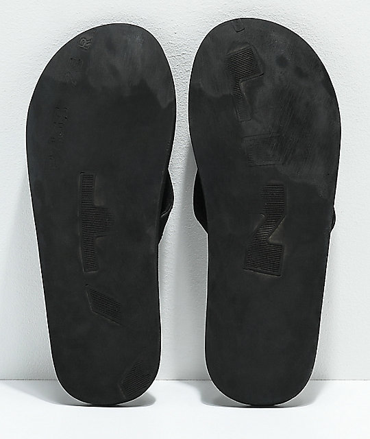 Indosole ESSNTLS Black Sandals