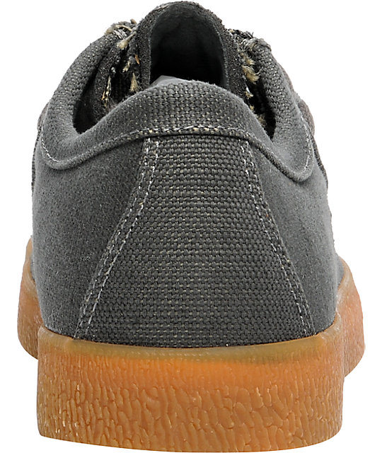Ipath Cats Low Gunmetal Hemp Shoes