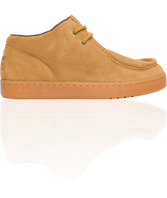 Ipath Cats Tan Suede Shoes