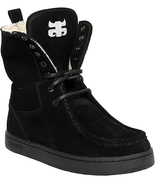 Ipath Shearling Black Boot