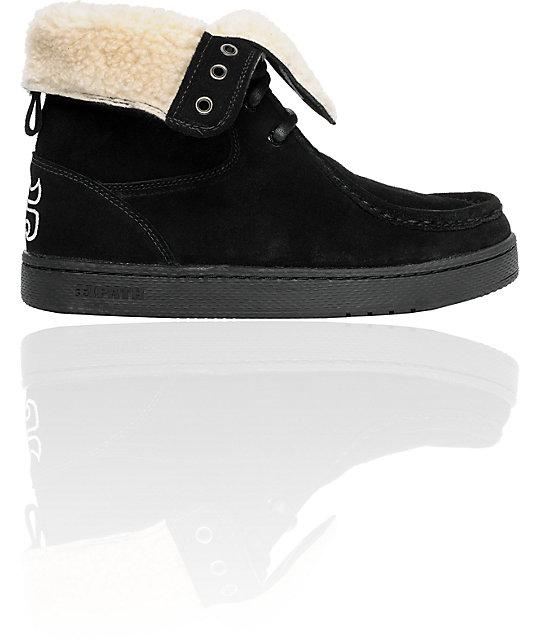 f79a36f1c5 Ipath Shearling Black Boot