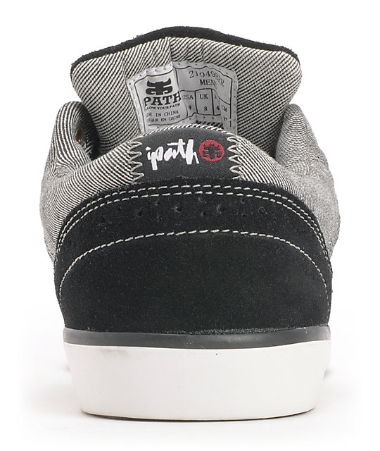 Ipath Westwing Low Black & Red Rust Skate Shoes