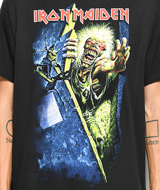 Iron Maiden Prayers camiseta negra