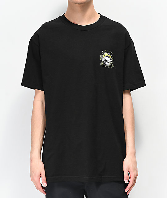 J!NX Poly Crusher Black T-Shirt